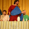 Joel Wardenburg, center, is among the majority of participants returning for The Last Supper Enactment. The Immanuel Lutheran Players are bringing their Lenten offering into Newtown for the first time this year, with two presentations planned for March 4 at Edmond Town Hall Theatre.		—Bee Photo, Hicks