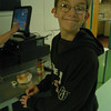 Newtown Middle School seventh grader Alex Michaud bought breakfast on Tuesday, November 9, before school began thanks to the new breakfast program at the school. Accord-ing to NMS nurse Barbara Reilly, the program is funded through a grant and allows stu-dents the chance to grab a breakfast before starting the day at the middle school.  (Hallabeck photo)