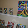 "Different techniques and mediums show the breadth of Everett Hoffman's abstract works, in some of the dozens of pieces at his one-day show at Maplewood at Newtown on February 22.  (Crevier photo)<br /> <br /> Read more here:<br /> A Lifetime Of Art Shared By Maplewood Resident Everett Hoffman<br />  <a href=""http://newtownbee.com/2012-03-01__13-11-54"">http://newtownbee.com/2012-03-01__13-11-54</a>"