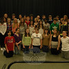 "Cast of the Newtown Middle School's upcoming production of Bye Bye Birdie stood together on Tuesday, February 28.  (Hallabeck photo)<br /> <br /> Read more here:<br /> NMS To Stage ""Bye Bye Birdie""<br />  <a href=""http://newtownbee.com/2012-03-01__14-39-32"">http://newtownbee.com/2012-03-01__14-39-32</a>"