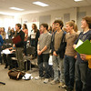 """The cast of Newtown High School's upcoming Drama Club production of Sweeney Todd rehearsed on Monday, February 27. Performances of the musical will be offered at the high school March 15-18.   (Hallabeck photo)<br /> <br /> Read more here: <br /> NHS To Stage """"Sweeney Todd""""<br />  <a href=""""http://newtownbee.com/2012-03-01__14-40-26"""">http://newtownbee.com/2012-03-01__14-40-26</a>"""