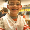 Newtown Bee: If you could be any animal for a day, what would you be? Evan Casagrande: A Tyrannosaurus Rex, because a T-Rex is my favorite animal.   (Hallabeck photo)