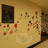 Entries for this year's Draw On! effort at Newtown Middle School are on display in one of the school's hallways. Draw On! is a program of Aldrich Contemporary Art Museum of Ridgefield.         —Bee Photo, Hallabeck