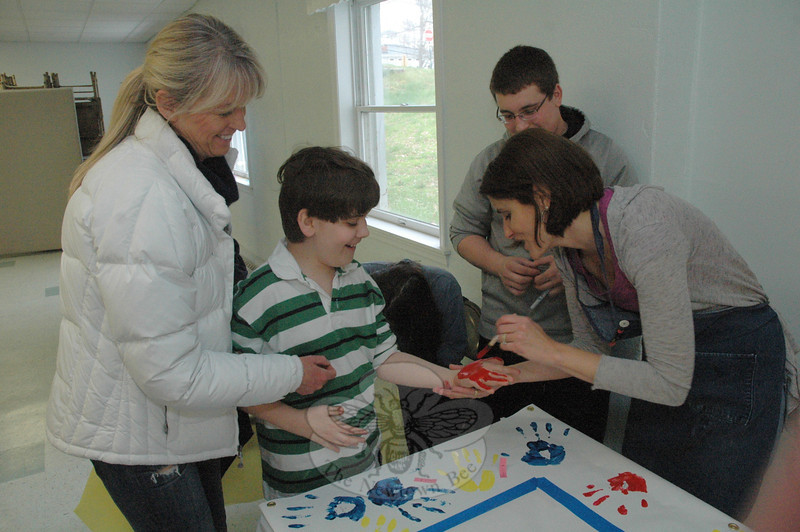 Families United in Newtown (FUN) sponsored a recreational program for families with special needs children on Sunday, April 1, at Newtown United Methodist Church in Sandy Hook Center.   (Gorosko photo)