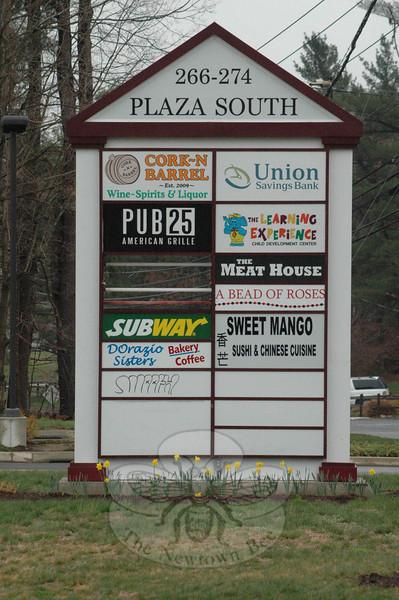 On Saturday, March 31, Plaza South at 266-276 South Main Street (Route 25) held its debut Block Party to promote businesses at the shopping center.  (Gorosko photo)