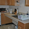Five units at Nunnawauk Meadows were refitted with lower kitchen counters and sinks, and the cupboards beneath the sink removed to comply with ADA standards. Wheelchair-bound residents can now be more self-sufficient.   (Crevier photo)