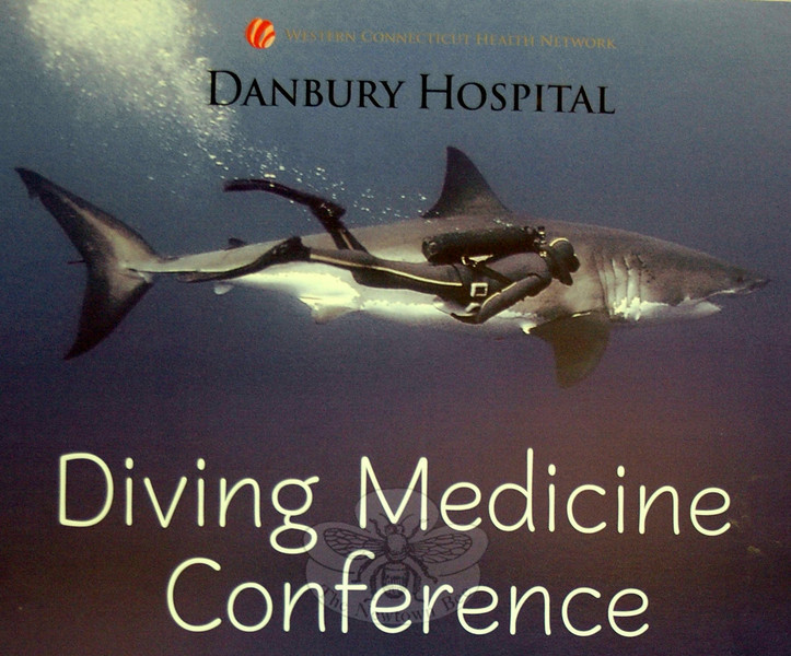 The Second Annual Diving Medicine Conference was held at Danbury Hospital on April 14. The event was held to help educate casual and professional divers, dive industry supporters and medical professionals about the latest medical developments, issues and practices related to the underwater activity.   (Voket photo)