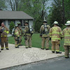Newtown Hook & Ladder, Dodgingtown, and Sandy Hook volunteer firefighters responded to a fire call on the afternoon of April 23 at the Maher residence at 8 Juniper Road in the borough. A malfunctioning circuit breaker in the basement resulted in an accidental electrical fire, said Deputy Fire Marshal Rich Frampton. There were no injuries. The fire caused light smoke to enter the house. Damage is estimated at approximately $9,000.   (Gorosko photo)