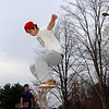 Skateboarders and BMX riders filled Newtown's new skate park at Dickinson Park earlier this week, and during the weekend. Newtown's Parks & Recreation Department plans to host a formal grand opening in early December.  (Bobowick photo)