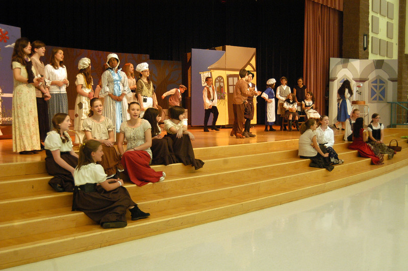 Reed Intermediate School's musical production of Disney's Beauty & The Beast was staged May 18-19. (Hallabeck photo)