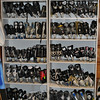 Rows of used but good hockey skates are neatly lined up at Replay Sports and Clothing Consignment Shop.     (Crevier photo)