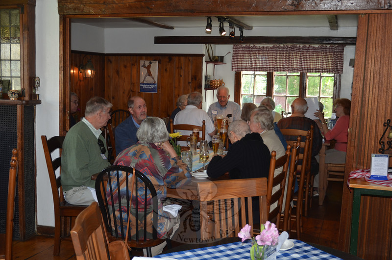 Whether enjoying the Old Heidelberg Oktoberfest bounty in the crisp cool pre-autumn air, or inside the cozy Stony Hill dining rooms, guests flock to the restaurant during the three weekends of celebration that kick off September 14.   (Voket photo)