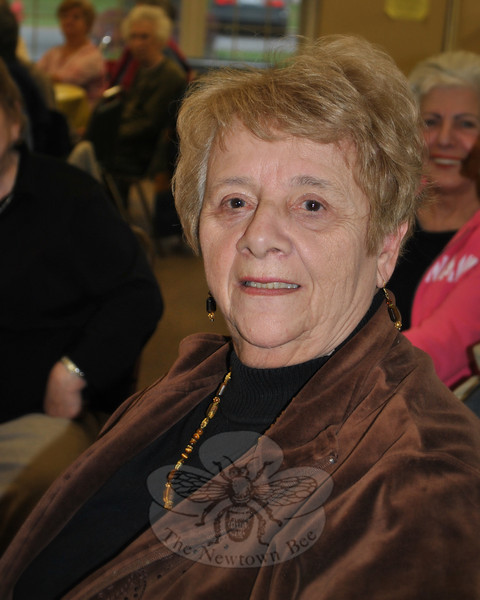 Marge LoRusso was one of two bakers who tied for second place in the November 17 Apple Bake-Off, for her entry of apple cake.  (Crevier photo)