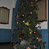 The Newtown Visiting Nurse Association is raffling this fully decorated artificial Christmas tree and the tree skirt beneath it. The ornaments and skirt are all new. The tree is on display in the main lobby of Edmond Town Hall, 45 Main Street. Tickets are $2 each or three for $5, and are available at The VNA Thrift Shop, accessible from the lower rear parking lot of the former town hall building. The shop is open Wednesdays from 9 am until noon and Saturdays from noon to 3 pm. VNA members will also be staffing the shop this Sunday and next, December 5 and 12, from 11 am to 2 pm. The winning raffle ticket will be picked on December 12.  (Crevier photo)