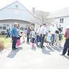 Guests and volunteers enjoyed an afternoon egg hunt, lunch, and entertainment for children at Nunnawauk Meadows on April 7.    (Bobowick photo)