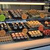 Only cupcakes made fresh daily — no cakes, cookies, or pastries — will be found in the display case at Cherries Cupcakes.   (Crevier photo)