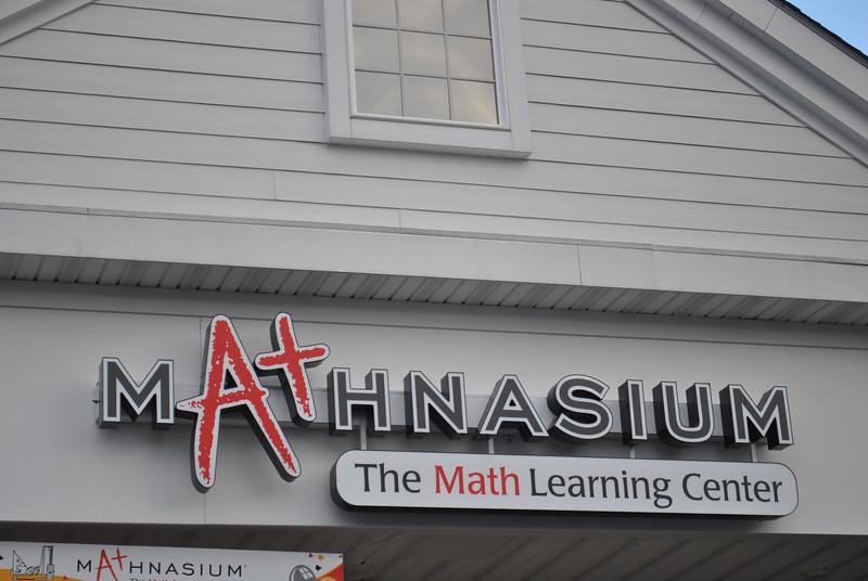 Mathnasium had opened at at 266 South Main Street, within Plaza South. (Crevier photo)