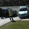 A two-vehicle accident occurred on Mile Mill Road, near its intersection with South Main Street, about 8:57 am on Wednesday, April 24. Police said motorist Joan Galasso, 73, of 55 Sugar Street was driving a 2000 Hyundai Elantra sedan westward on Mile Hill Road, as mo-torist John Gallagher, 62, of Brewster, N.Y., was driving a 2012 Honda Accord sedan eastward on Mile Hill Road. The Honda then attempted to make a left turn to enter the rear driveway of Walgreens Pharmacy, resulting in the front end of the Hyundai striking the right side of the Honda, police said. There were no injuries. Newtown Volunteer Ambulance Corps and Hook & Ladder firefighters responded to the scene. Police said they issued Galasso a written warning for passing on the right. Police said they gave Gallagher a written warning for making a restricted turn.   (Gorosko photo)