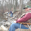 "Fred Frillici, a member of the Newtown Fish and Game Club, casts his line and looks to reel in a fish during Opening Day at Taunton Lake on April 20. The Fairfield resident was far from the only one who sought to make a catch in the club-owned 126-acre lake stocked with trout.   (Hutchison photo)<br /> <br /> Please see this week's Sports Photos for additional images from opening day: <a href=""http://photos.newtownbee.com/Sports/Sports-photos-for-week-146/29095199_XH5gvD#!i=2476706136&k=pcChmv9"">http://photos.newtownbee.com/Sports/Sports-photos-for-week-146/29095199_XH5gvD#!i=2476706136&k=pcChmv9</a>"
