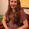 Newtown Middle School eighth grade student Kathryn Blanco is one of eight student authors published in Journeys in Words: Chronicles of Avid Travelers Volume 1.   (Hallabeck photo)