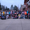 A sample of Reed Intermediate School orchestra, band, and concert choir students gathered on Wednesday, April 10, to venture to Middle Gate School and Sandy Hook School for the annual recruiting tour to help fourth grade students across the district determine which form of music to study in fifth grade. Students visited Head O' Meadow School and Hawley School on Tuesday, April 9.   (Hallabeck photo)