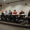 The Ordinance Committee of the Legislative Council fielded public comments on target shooting at an April 11 session. About 50 people attended the meeting. The committee plans to continue the discussion on May 8.  (Gorosko photo)