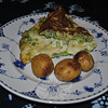Simple roasted potatoes make a nice accompaniment to a vegetable and cheese frittata -- a great way to start mom's day.   (Crevier photo)