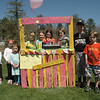 Molly Connors, her relatives, and her friends had a lemonade sales fundraiser at Dickinson Park on Saturday, April 27, to raise money for the Newtown Parks Gift Fund in honor of Sandy Hook Elementary School. Instead of a birthday party this year, Molly, who turned age 9 on April 22, decided to hold the fundraiser at the park. Lemonade and baked goods were on sale. The project raised $252 for the fund. Shown at the event, from left, are: Maureen Connors, Eilee Connors, Mary Brady, Jessica D'Amico, Celeste Caseria, Molly Connors, Ella Wanzer, Thomas Speiser, Brendan Connors, and William Speiser.   (Gorosko photo)