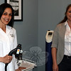 Newtown Medispa owner Debra Sullivan and office manager Patty Sullivan are pictured in one of the treatment rooms in the 123 South Main Street office. Newtown Medispa recently added two massage therapists and a new aesthetician to its complement of personnel, and is gearing up for Mother's Day with a number of specials just for mom.   (Voket photo)