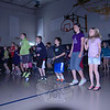 "Each grade at Hawley Elementary School participated in this year's Project ACES (All Children Exercise Simultaneously), recognized on Wednesday, May 1. Most classes participated in their classroom, but some participated in the gymnasium, shown. A video of teachers and school administration performing the ""Cha Cha Slide"" was used to prepare the students for the event, and Hawley physical education teacher Doug Michlovitz led both the video and the group of students in the school's gymnasium. ""It's great,"" said Hawley first grader Katie Fiorini just before the event began, adding, ""It's awesome.""   (Hallabeck photo)"