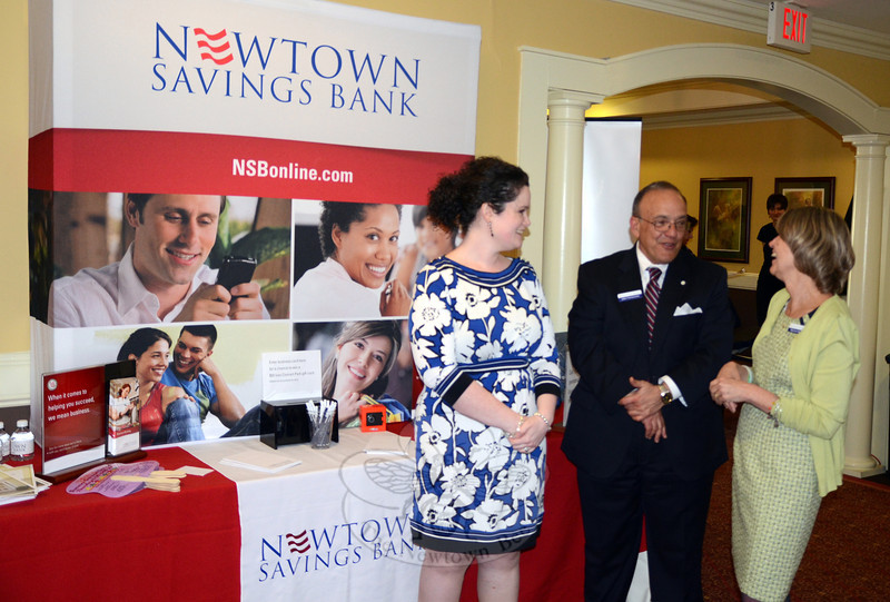 The 10th Anniversary Destination Newtown brought nearly 60 participating vendors and partners together at Rock Ridge Country Club May 1, including title sponsor Newtown Savings Bank.  (Voket photo)