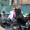 "Becky and Stephen Kowalski suited up for the day's ride.   (Bobowick photo)<br /> <br /> PLEASE NOTE: Additional photos from this event, which were presented online in a slideshow, can be viewed here: <a href=""http://photos.newtownbee.com/Journalism/Special-Events/Sandy-Hook-Green-Ribbon-Ride/29458684_BXBXWC#!i=2516266238&k=8R8PGw5"">http://photos.newtownbee.com/Journalism/Special-Events/Sandy-Hook-Green-Ribbon-Ride/29458684_BXBXWC#!i=2516266238&k=8R8PGw5</a>"