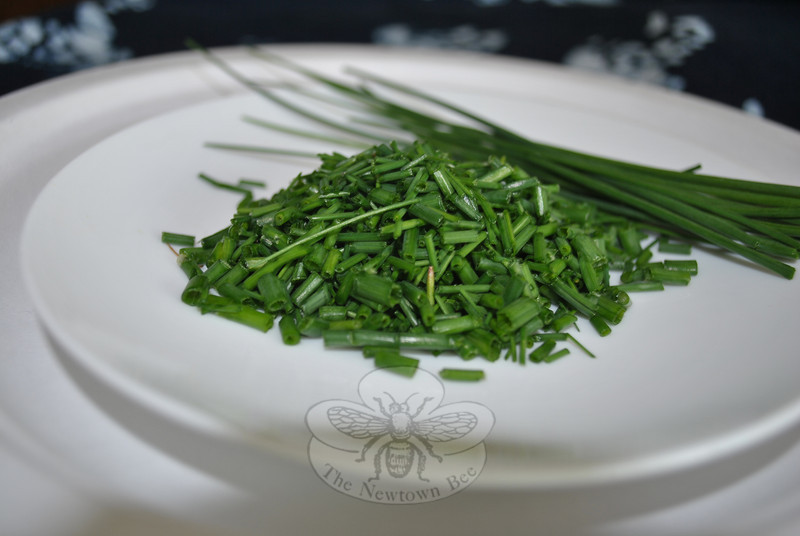 Minced chives add a gentle onion flavor to savory dishes, dips, and sauces.   (Crevier photo)