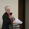 CWU-Newtown/Greater Danbury Chapter President Darlene Jackson offered welcoming remarks and led the afternoon's prayer of invocation.  (Hicks photo)