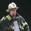 Botsford Fire Rescue Company Chief Wayne Ciaccia served as the officer in charge during when firefighters responded to an accidental garbage fire within the town's waste transfer station off Ethan Allen Road on May 12.   (Hicks photo)