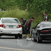 Police report that at about 2:42 pm on May 9, motorist Patrick Lawson, 24, of Monroe, who was driving a 2009 Toyota Corolla sedan eastward near 5 Church Hill Road, stopped due to traffic conditions, after which the Toyota was struck from behind by an eastbound 1993 Chevrolet Camaro coupe driven by Thomas Bernath, 18, of 62 Nearbrook Drive. There were no injuries. Police said they issued Bernath a written warning for following too closely.   (Gorosko photo)