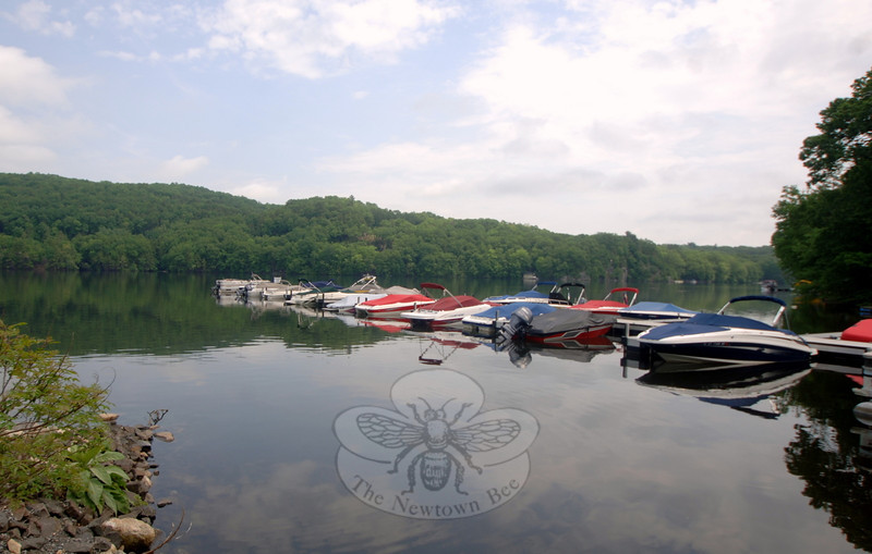 Only a few slips remain available for the season at the Eichler's Cove marina.   (Bobowick photo)