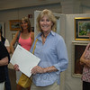 Joan D. Cone was one of 12 artists to be named award-winners during the June 10 SCAN Spring Art Show reception.   —Bee Photo, Bobowick