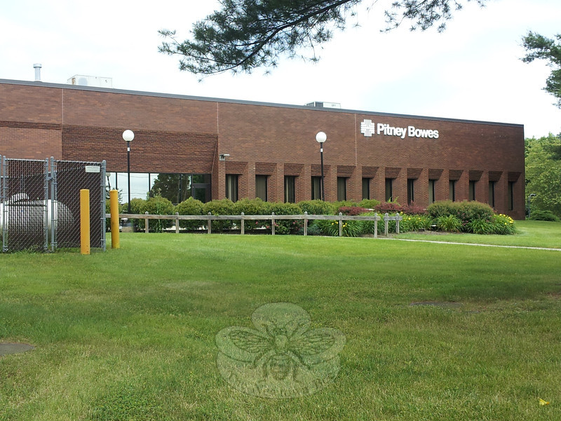 The former Pitney-Bowes facility at 7 Edmond Road, at the corner of Schoolhouse Hill Road, has been acquired by Clancy Moving Systems of Patterson, N.Y., according to Newtown Community Development Director Elizabeth Stocker. The 155,000-square-foot commercial building sold for $4.8 million after being on the market for about seven months. —Bee Photo, Voket