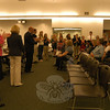 Newtown High School's academic top five percent of the Class of 2012 was recognized during the Board of Education's meeting on Tuesday, June 5. The students were asked to stand after being acknowledged by, from left, Board of Education Chair Debbie Leidlein, Superintendent of Schools Janet Robinson, and NHS Principal Charles Dumais.   —Bee Photo, Hallabeck
