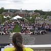 "Cheryl Jablonoski, a Newtown Savings Bank employee and Relay for Life co-chair, speaks to the nearly 1,000 people who gathered for the annual American Cancer Society fund and awareness raising event at Fairfield Hills. Ms Jablonoski will move on to co-chair the local 2013 Relay. 			—Bee Photo, Voket<br /> <br /> PLEASE NOTE: The full collection of photos that made up the slideshow that accompanied this story online can be found in a separate gallery, here: <a href=""http://newtownbee.smugmug.com/Journalism/Special-Events/Relay-For-Life-2012/23520226_GnhFcF#!i=1901612363&k=2f3PfVZ"">http://newtownbee.smugmug.com/Journalism/Special-Events/Relay-For-Life-2012/23520226_GnhFcF#!i=1901612363&k=2f3PfVZ</a>"