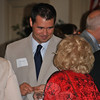 "Newtown State Representative Chris Lyddy greets former representative Mae Schmidle at the DTC dinner to honor former first selectman Herb Rosenthal. The event attracted many members of both political parties. —Bee Photo, Crevier<br /> <br /> PLEASE NOTE: The full collection of photos that made up the slideshow that accompanied this story online can be found in a separate gallery, here: <a href=""http://photos.newtownbee.com/Journalism/Special-Events/DTC-Dinner-Honors-Herb/23503819_K4XGvP#!i=1899882333&k=dGxwfgt"">http://photos.newtownbee.com/Journalism/Special-Events/DTC-Dinner-Honors-Herb/23503819_K4XGvP#!i=1899882333&k=dGxwfgt</a>"