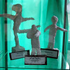 """Sandy Hook School hosted its annual Art Show recently featuring hundreds of drawings, paintings, sculptures, and multidimensional works by students from kindergarten through fourth grade. Among the projects were various """"plaster people,"""" shown here.        —Bee Photos, Voket"""