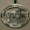 The Newtown Woman's Club recently unveiled its 2010 ornament, which celebrates The Town Players of Newtown and The Little Theatre.  (Hicks photo)