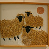 """Margaret Moss's """"Rams Pasture"""" is one of the few mixed media works in """"Newtown Images, New England Charm.""""  (Hicks photo)"""