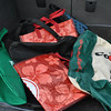 The warm trunk of a car, where most people store their reusable shopping bags, provides an ideal breeding ground for harmful bacteria that may be developing in unwashed bags.  (Crevier photo)