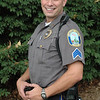 David Kullgren, 40, who has been a town police officer since December 2001, has been elevated to the rank of sergeant by the Police Commission. Sgt Kullgren most recently worked as a patrol officer, specializing in traffic enforcement.  (Gorosko photo)