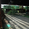 A view of the abandoned interior of an aluminum smelting plant on Swamp Road in Botsford that was formerly operated by the Charles Batchelder Company.  (Gorosko photo)