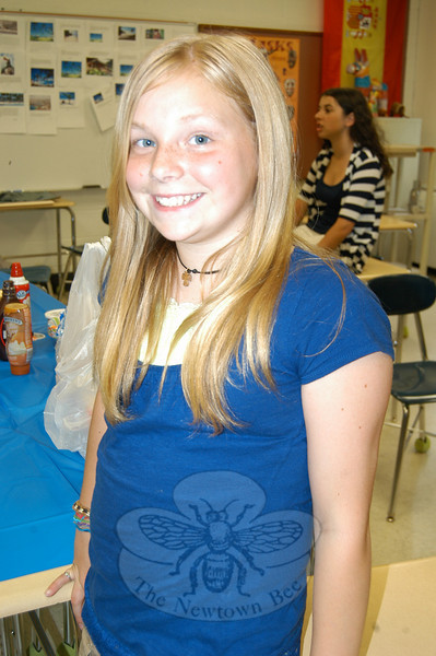 """When posed with the Bee Lines question """"With the last day of the school year quickly approaching, what will you do when the last bell rings?"""" Casey Demers said, """"Say goodbye to everybody.""""  (Hallabeck photo)"""