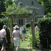 Those attending the Garden Conservancy's Open Days Program on Saturday, June 26, vis-ited Jean Sander's garden in Sandy Hook. The garden was one of nine gardens open to the public that day in Fairfield County and Litchfield County.  (Gorosko photo)